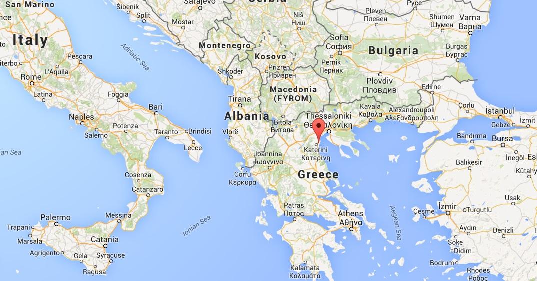Korinos greece